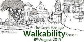 green heritage walk banner